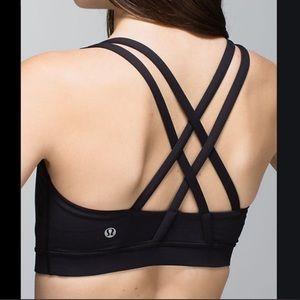 Lululemon Athletica Energy Sports Black Bra